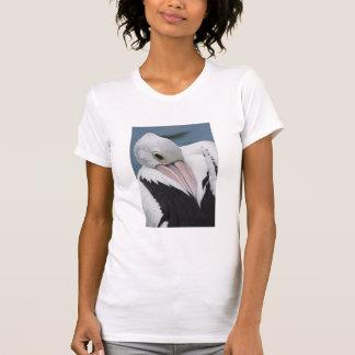Camiseta Fim australiano do pelicano acima