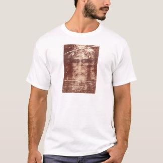 Camiseta Fim da cara de Jesus acima na saia de Turin