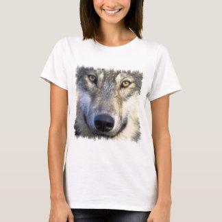 Camiseta Fim da cara do lobo acima
