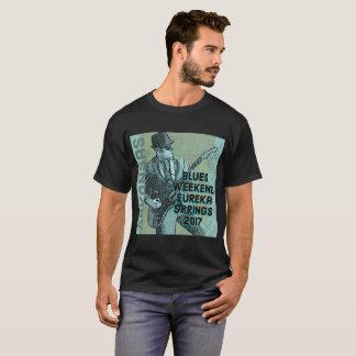 Camiseta Fim de semana Eureka Springs 2017 dos azuis