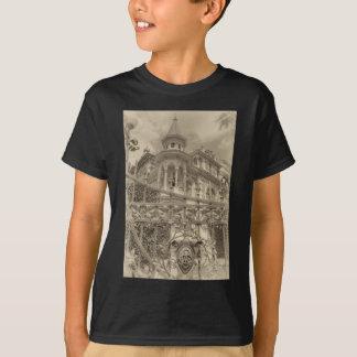 Camiseta Final da casa de campo de Chamas