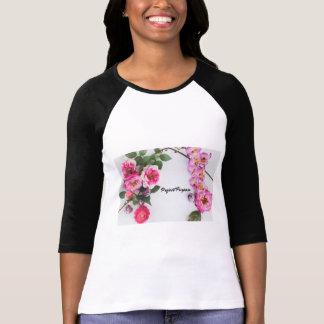 Camiseta Finalidade do projeto - flores