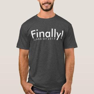 Camiseta Finalmente classe da graduação 2017