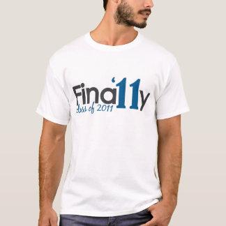 Camiseta Finalmente classe de 2011