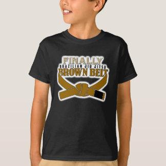 Camiseta Finalmente correia de BJJ Brown!!!