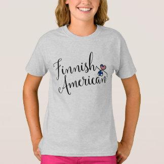 Camiseta finlandesa dos corações de Entwinted do