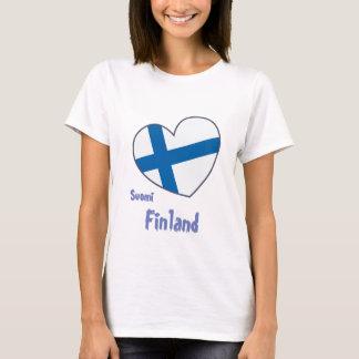 Camiseta Finlândia Suomi shirt women