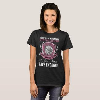 Camiseta Fio morno macio Sewing de confecção de malhas