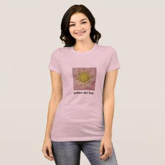 "Camiseta Fiori ""flower power "" do dei de Potere"