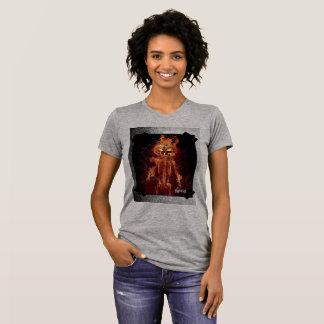 Camiseta Fire Skull Halloween