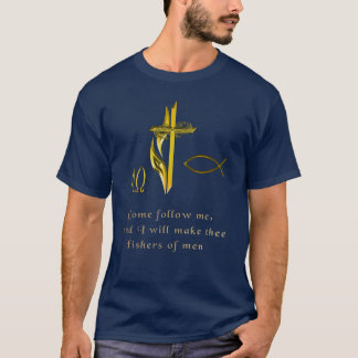 Camiseta fishers de t-shirt dos homens
