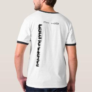 Camiseta fishers dos homens