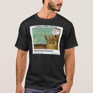 Camiseta Física da marmota