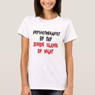 Camiseta Fisioterapeuta do assassino do zombi