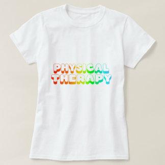Camiseta Fisioterapia do arco-íris