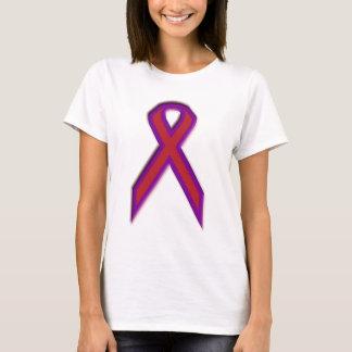 Camiseta Fita crônica da consciência da enxaqueca - T