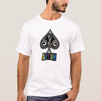 Camiseta Fita do autismo - Tshirt - edição das pás