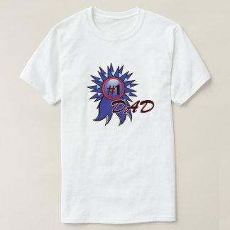 Camiseta Fita do pai do número 1