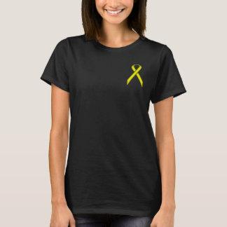 Camiseta Fita padrão amarela por Kenneth Yoncich