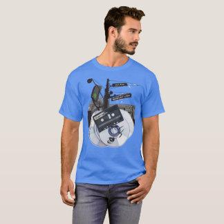 Camiseta Fitas e CD da viagem nostálgica