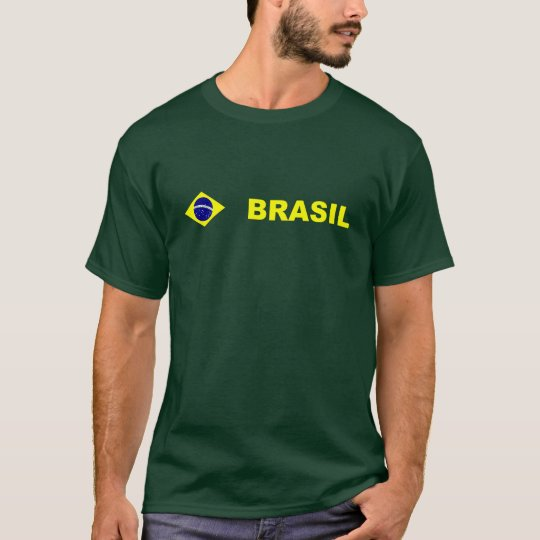 Camiseta Flag of Brazil apparel