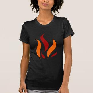Camiseta Flame Conversas laranja