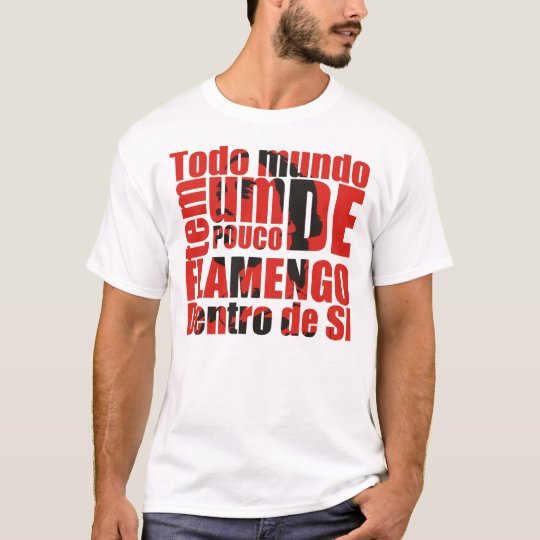 Camiseta Flamengo dentro de si