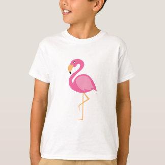 Camiseta Flamingo cor-de-rosa