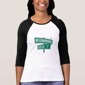 Camiseta Flamingo do chefe, t-shirt do Raglan, 3/4 de luva