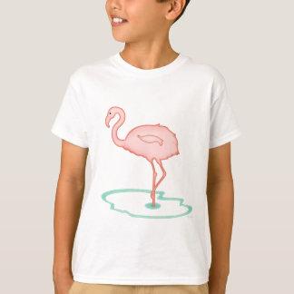 Camiseta Flamingo solitário