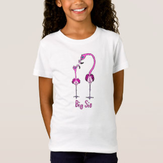 Camiseta Flamingos grandes do Sis