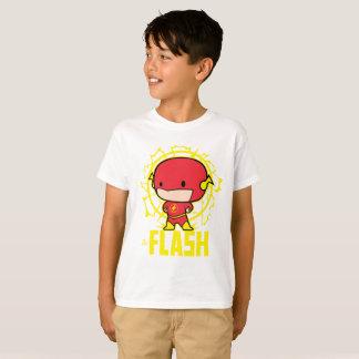 Camiseta Flash de Chibi com eletricidade