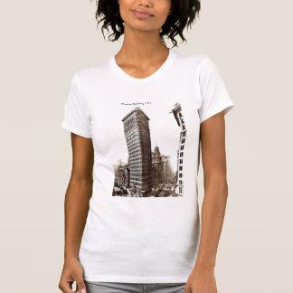 Camiseta Flatiron que constrói 1910