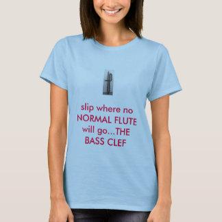 Camiseta Flautas do baixo de Subconra