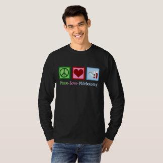 Camiseta Flebotomia do amor da paz