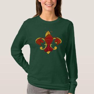 Camiseta Fleur De Papo, lagostim da flor de lis