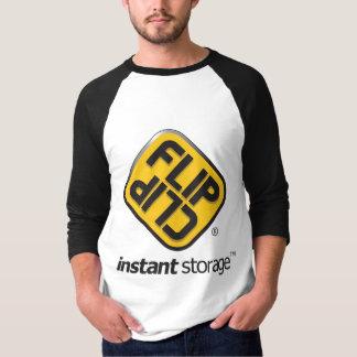 Camiseta FlipClip_Instant_Storage_Logo
