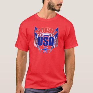 Camiseta Floco de neve de Sochi EUA
