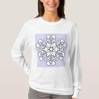 Camiseta Floco de neve do inverno