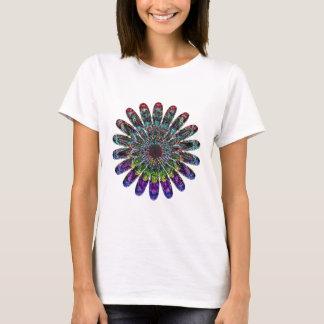 Camiseta Flor abstrata