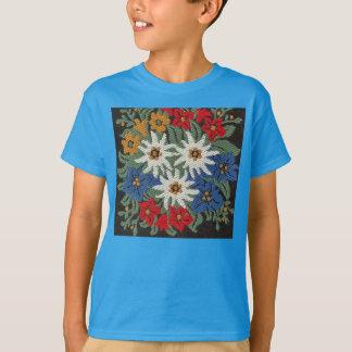 Camiseta Flor alpina suíça de Edelweiss