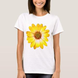 Camiseta Flor amarela