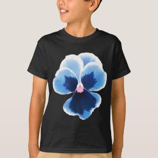 Camiseta Flor azul 201711c do amor perfeito