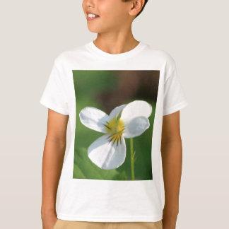 Camiseta Flor branca de Lil