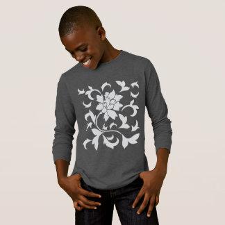 Camiseta Flor-Cinzas orientais