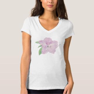 Camiseta Flor cor-de-rosa da azálea