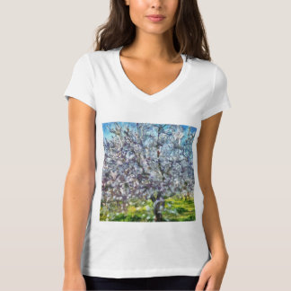 Camiseta Flor da amêndoa