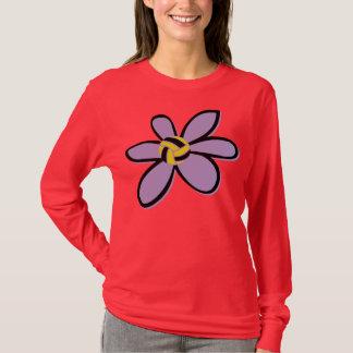 Camiseta Flor da bola de pólo aquático - design 2