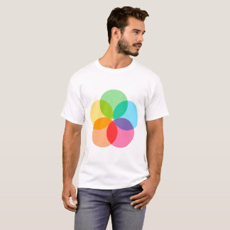 Camiseta Flor da cor