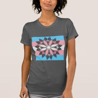 Camiseta Flor da igualdade do transporte